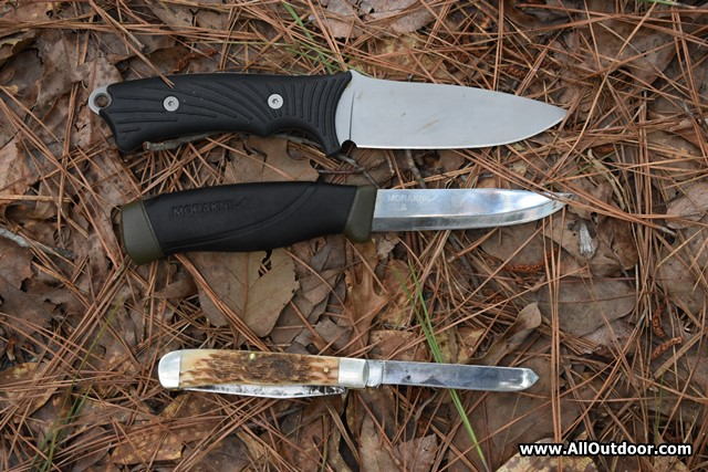 Case, Mora and Gerber knives