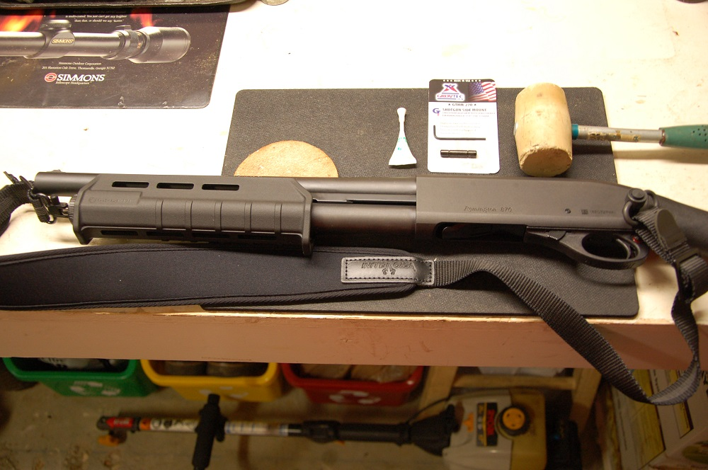 Converting the Remington Tac-14 to Shoulder Carry
