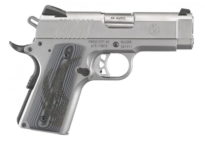 Rugers New Sr1911 Officer Model Alloutdoorcomalloutdoorcom