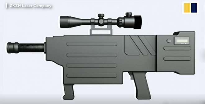 China's Hand-Held Laser Rifle Can Set You on Fire - AllOutdoor