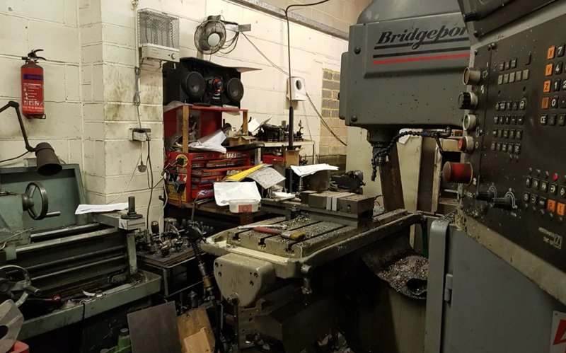 """""""Illegal Gun Factory"""" Discovered by British Police"""