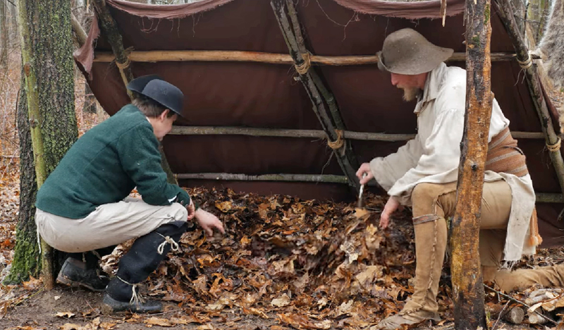American Frontier — Making Your Bed With Dead Leaves?