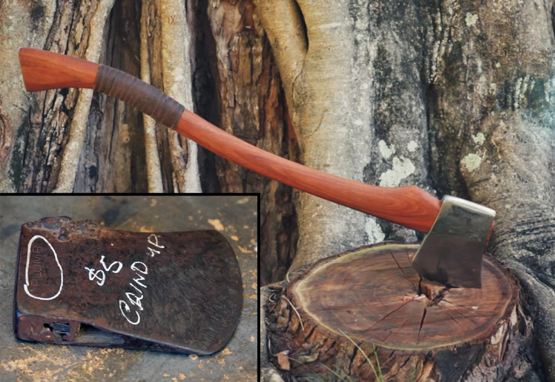 Watch: Restoring a Five-Dollar Axe