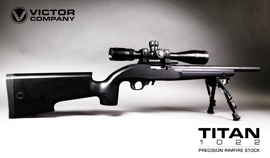 Victor Titan Rifle Stock for your Ruger 10/22
