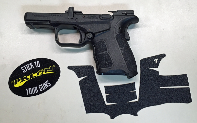 Applying a Talon Grip to Springfield Armory XD-S 9 Mod.2 Pistol