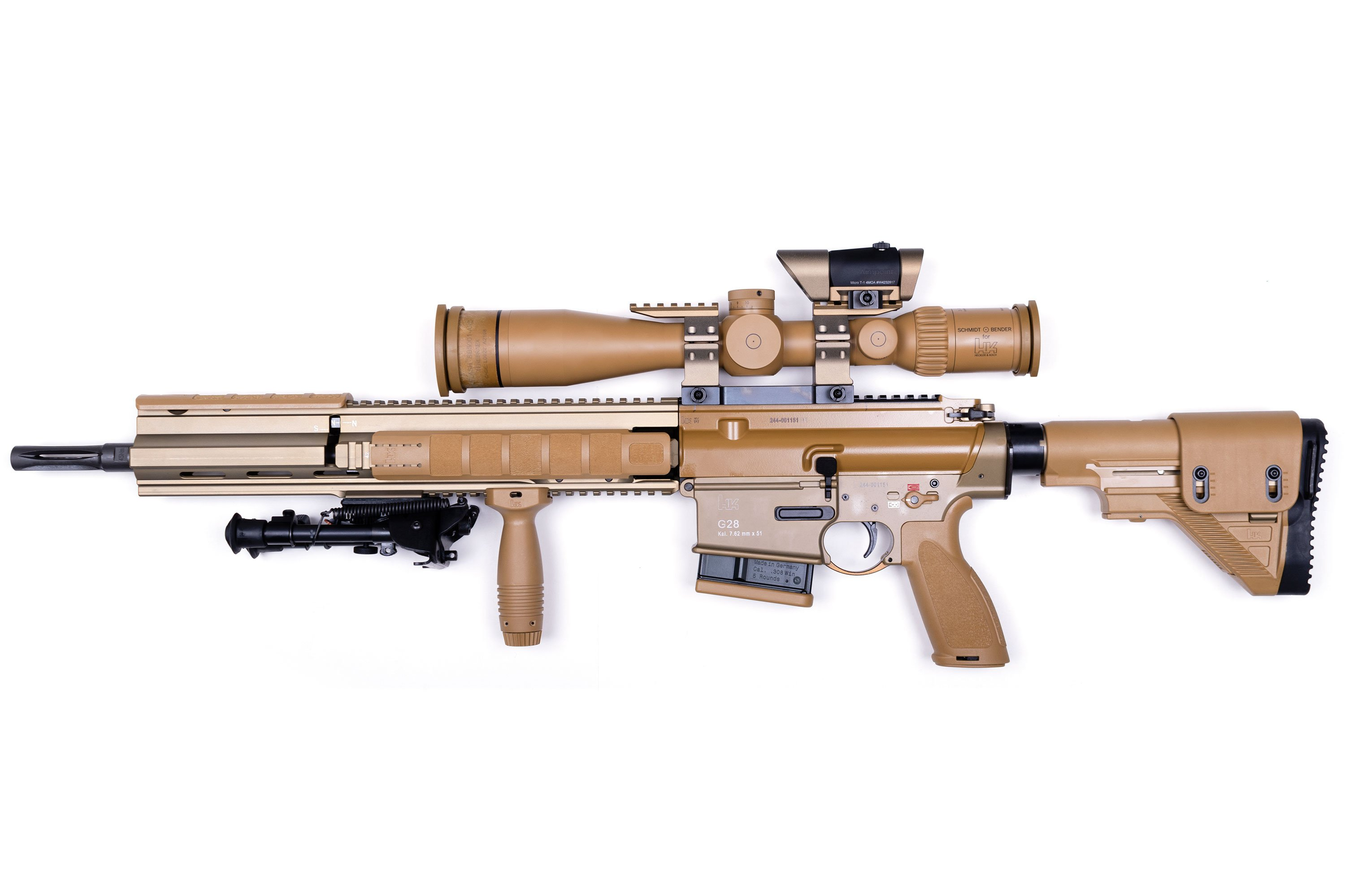 Heckler & Koch G28 DMR available now in Canada