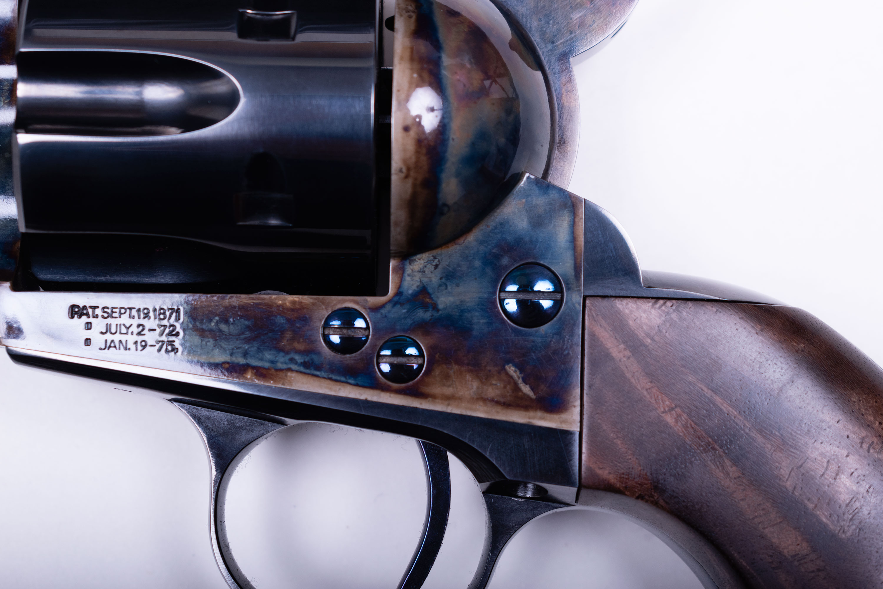 Standard Mfg. SAA Revolvers High-Res Photos