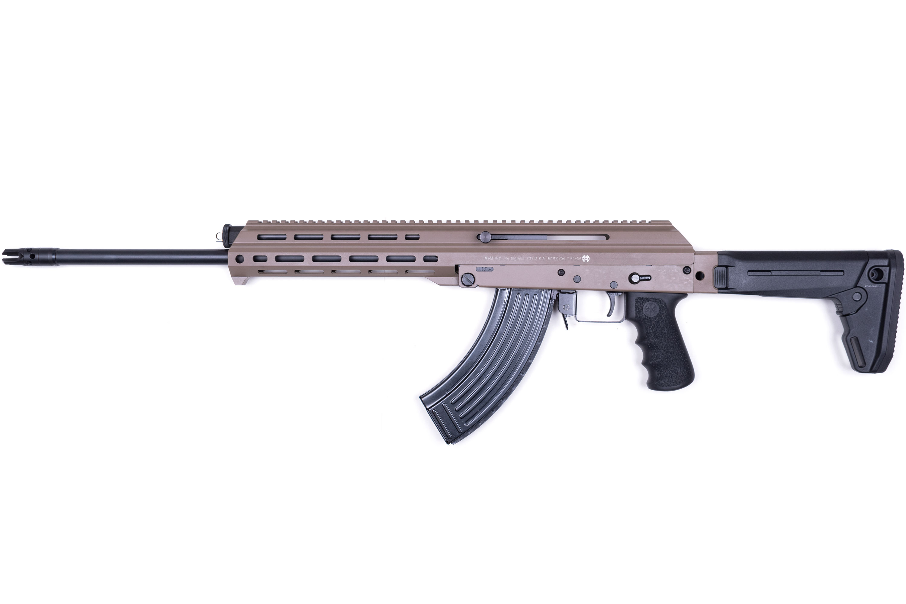 M+M M10x DMR coming soon in FDE finish