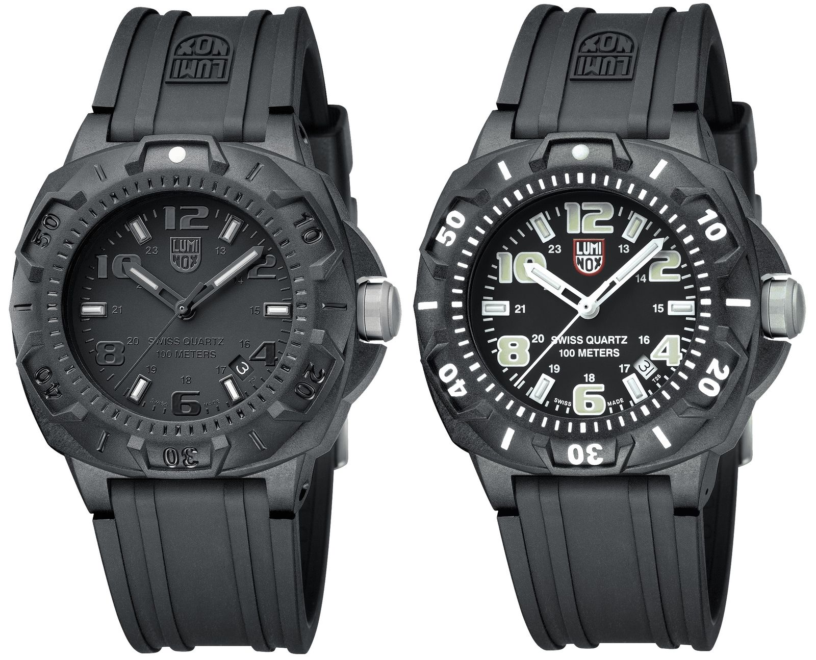 Timely Deal; The Luminox Black Carbon Sentry Watch Is 60% Off