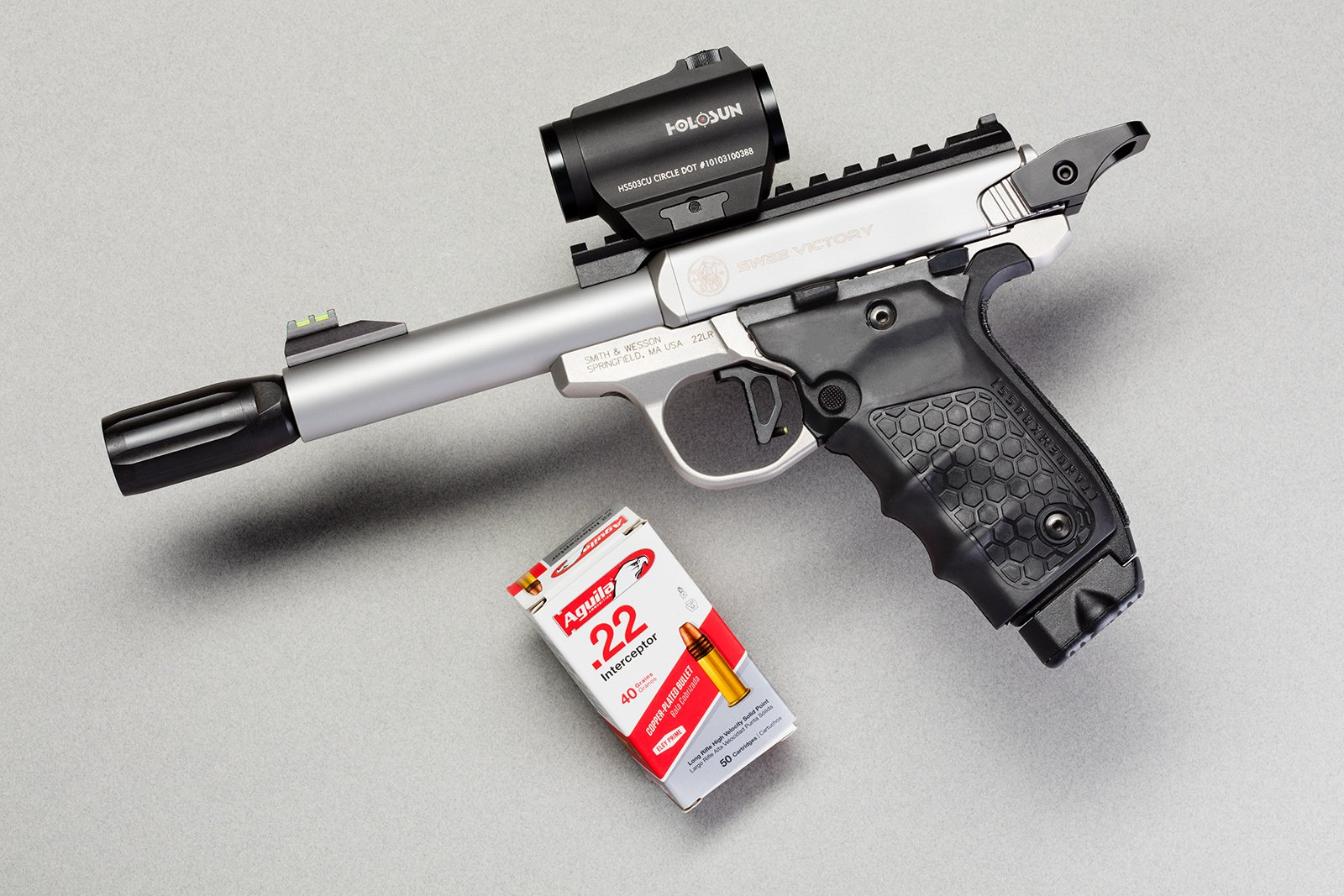 How to select the barrel for a rimfire competition pistol