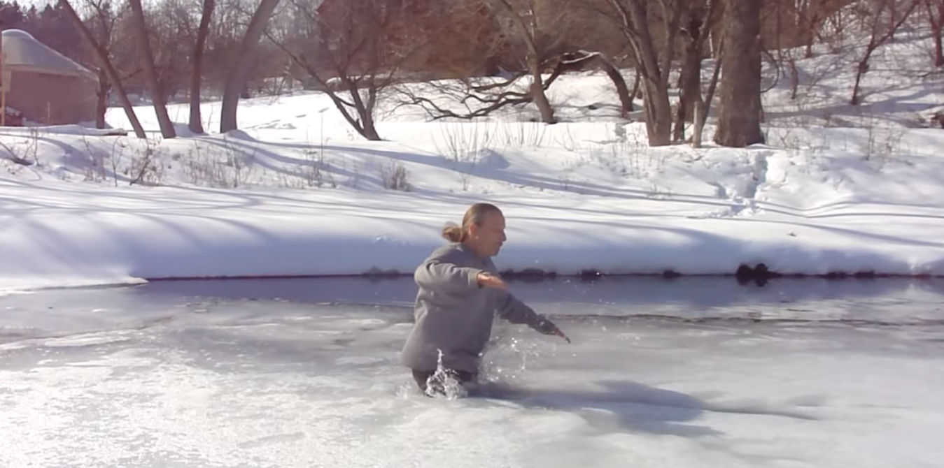 You Just Fell through Thin Ice!… Now What Do You Do?