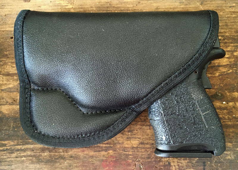 Comfort Cling holster with pistol inside.