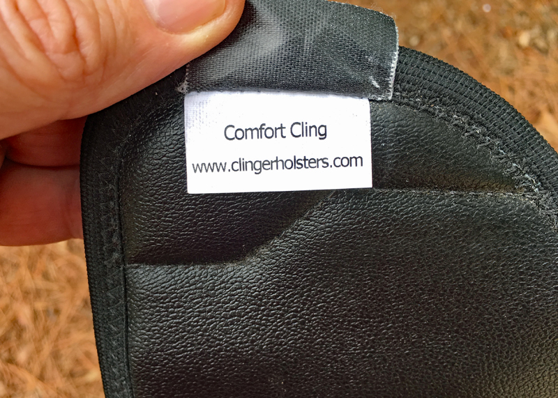 Comfort Cling holster tag