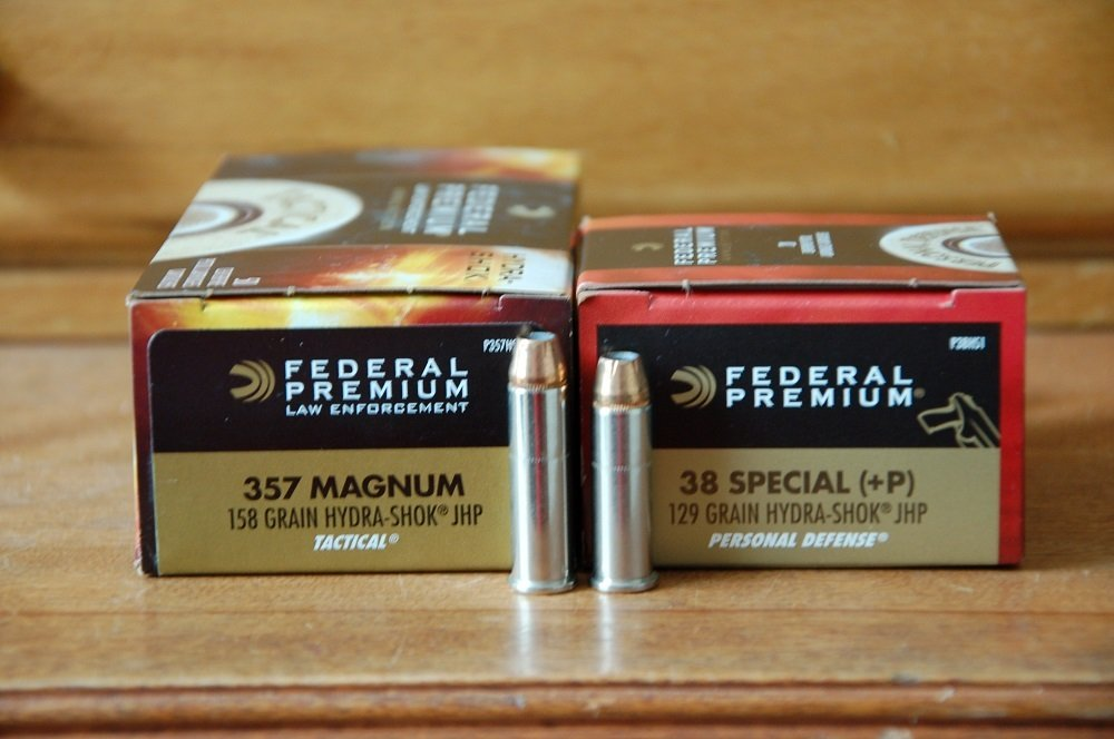 The 38 Special +P vs the 357 Magnum