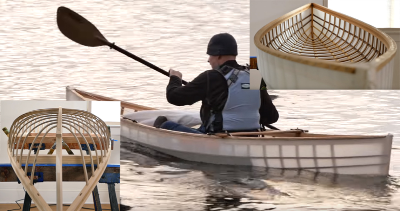 Watch: Building Skin-on-Frame Canoes