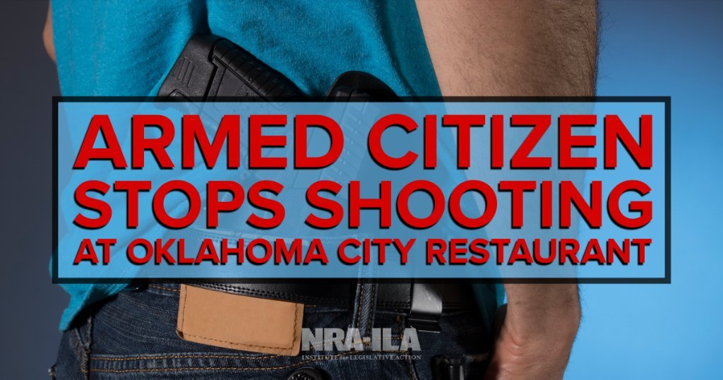 Restaurant Shooting Cut Short by Armed Citizens