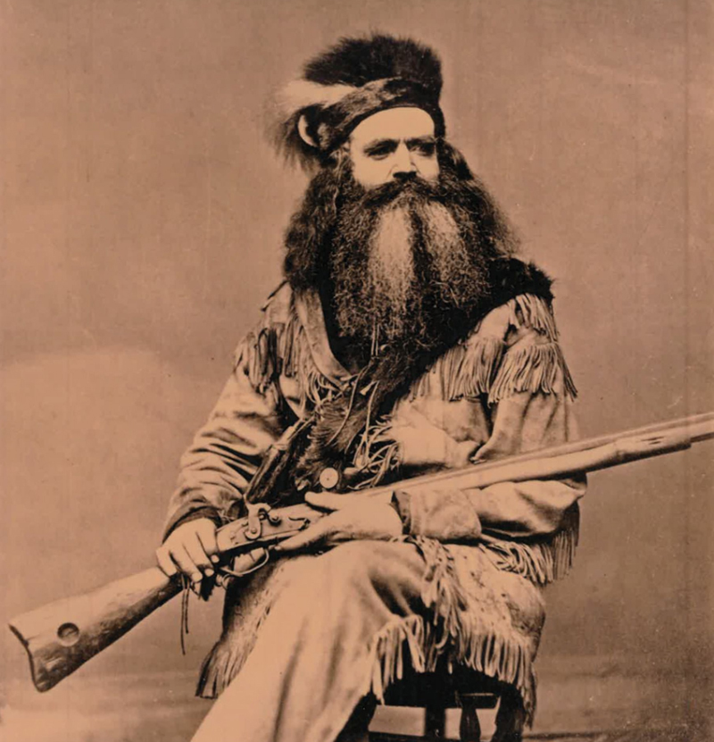 A Real-Life Mountain Man's Rifle That was at Lincoln's Funeral