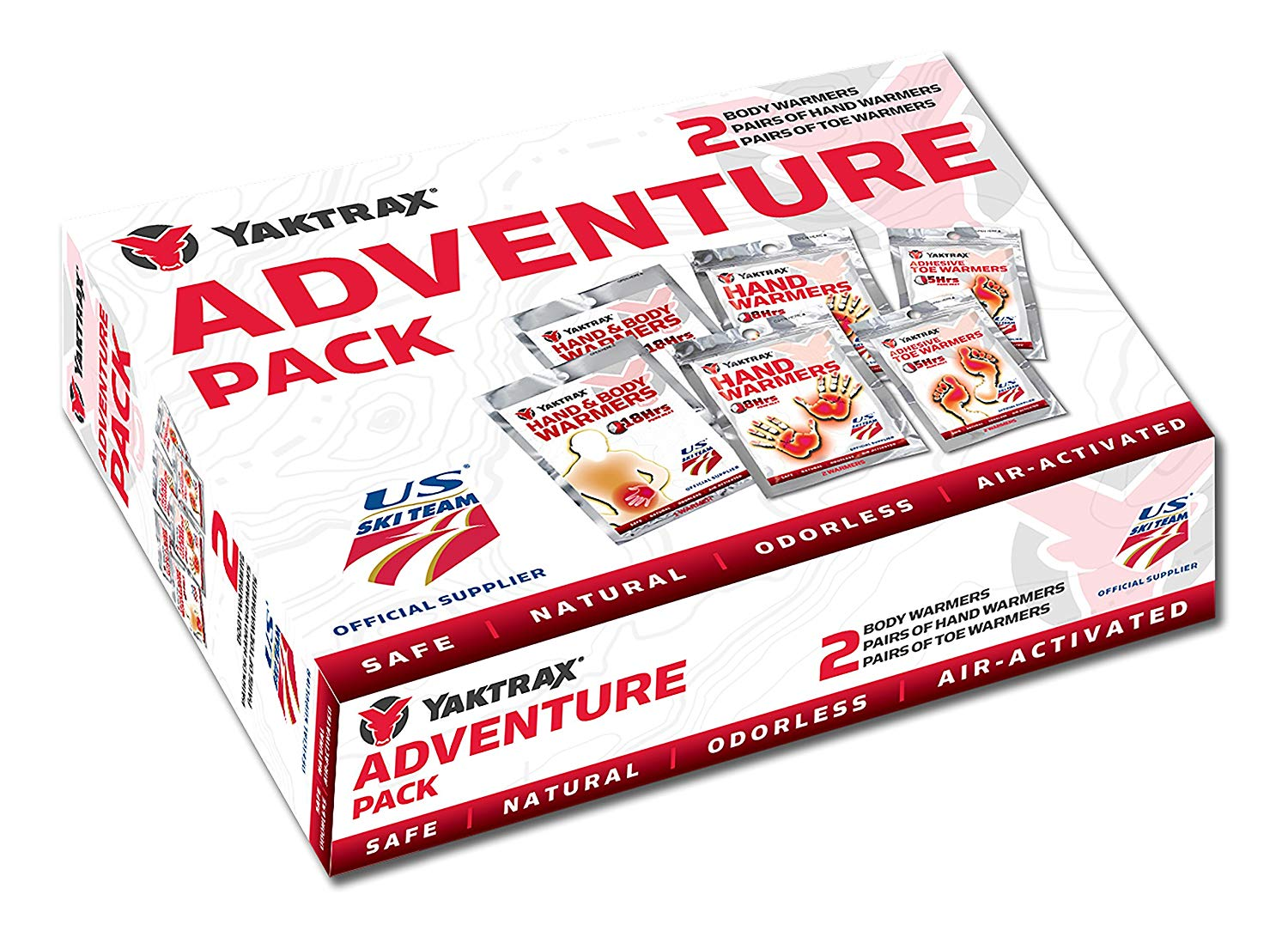 Yaktrax Adventure Pack Air-Activated Warmers