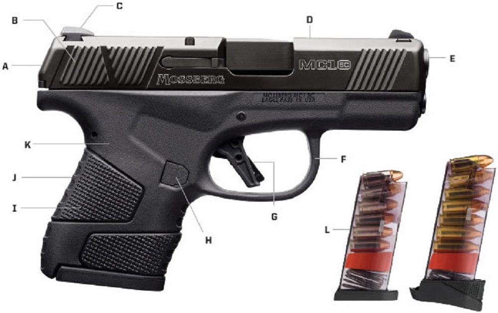 Mossberg's New MC1sc Pistol