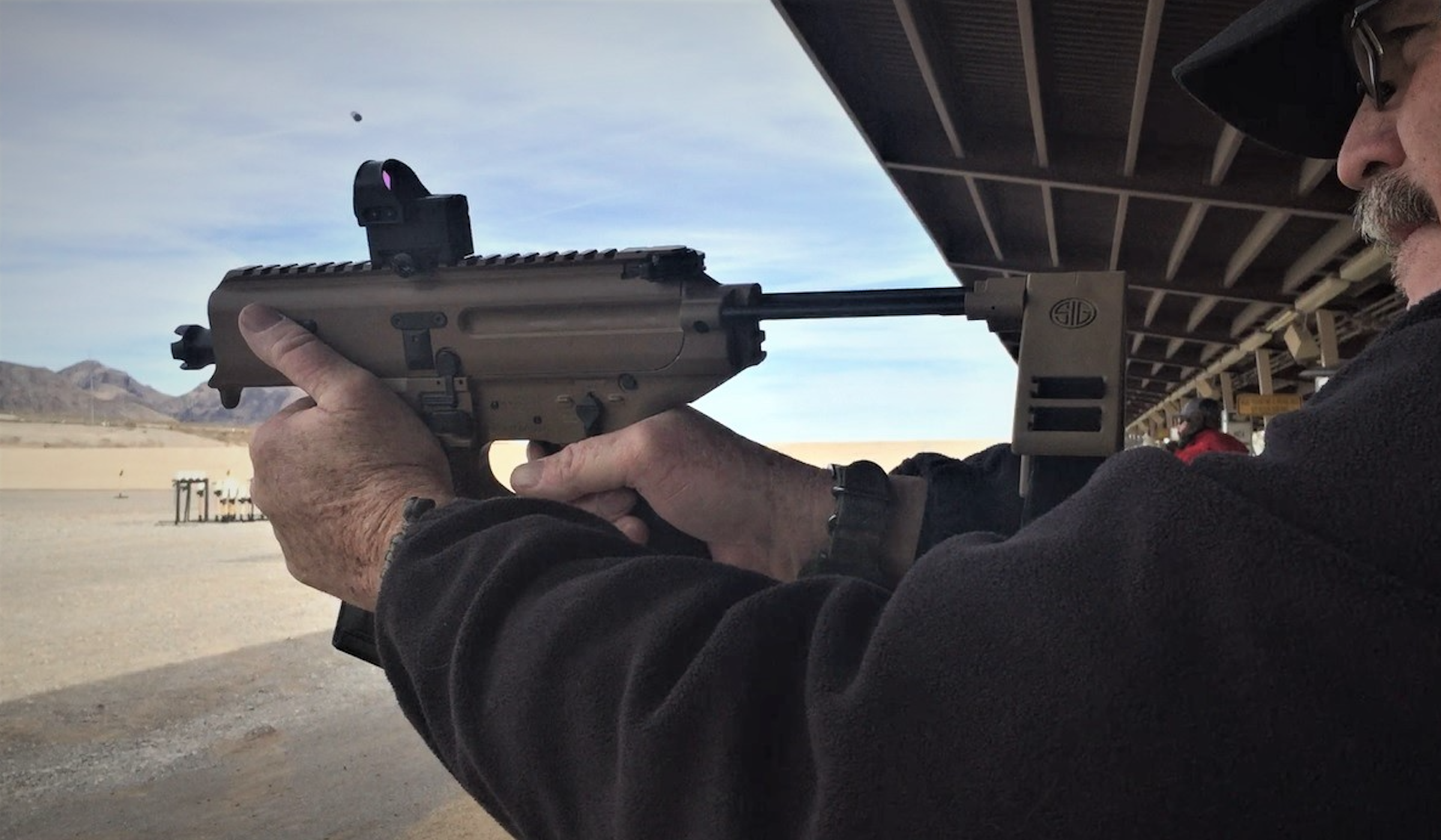 SHOT Show 2019: Sig Sauer MPX Copperhead debuts at Sig's Range Day