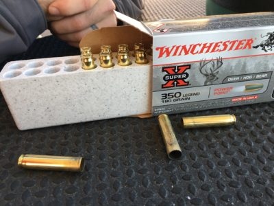 The New Winchester 350 Legend