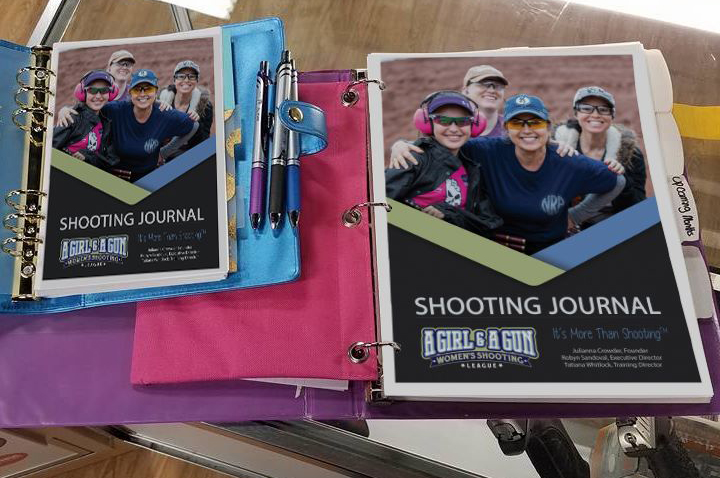New Shooting Journal for Women