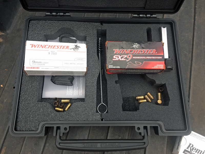 Springfield Armory XD-S Mod.2® 9mm case.