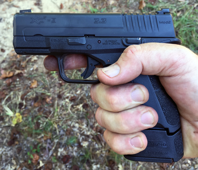 Springfield Armory XD-S Mod.2® 9mm with 9-round extended magazine.