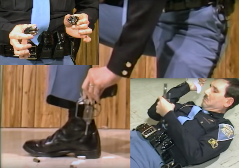 Old Police Video: How to Use Revolver Speed Loaders
