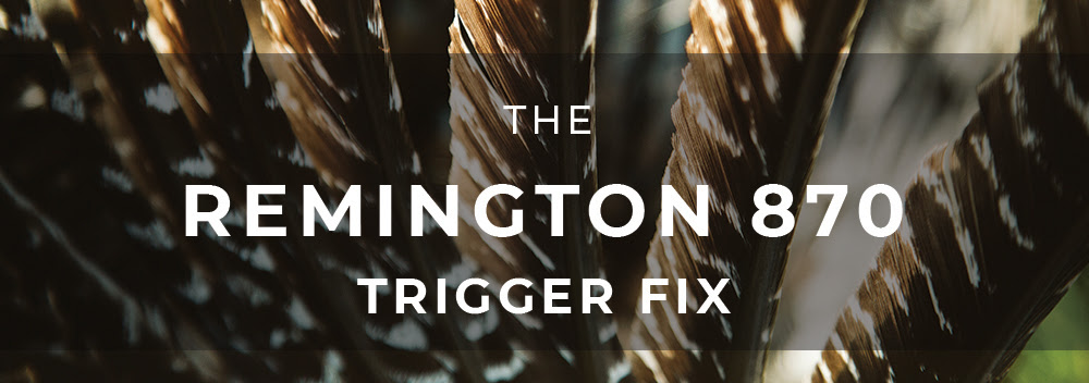 Timney Triggers has a Fix for the Remington 870