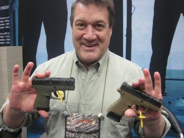 [NRA 2019] The Beretta APX Carry Pistol