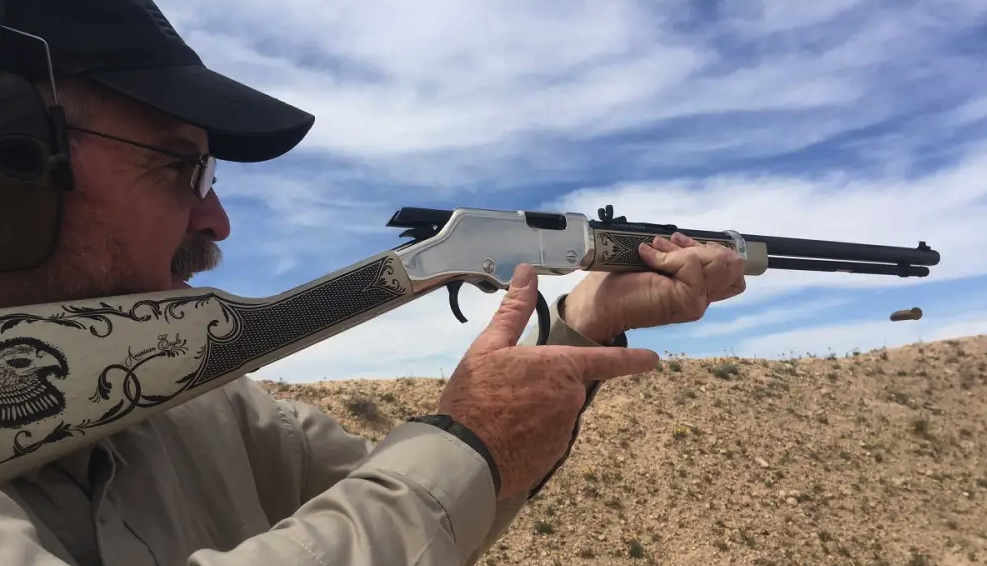 The Henry Repeating Arms American Eagle Lever Action