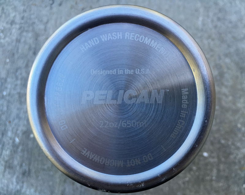 Your Pelican tumbler should stay OUT of the microwave, freezer, and dishwasher.