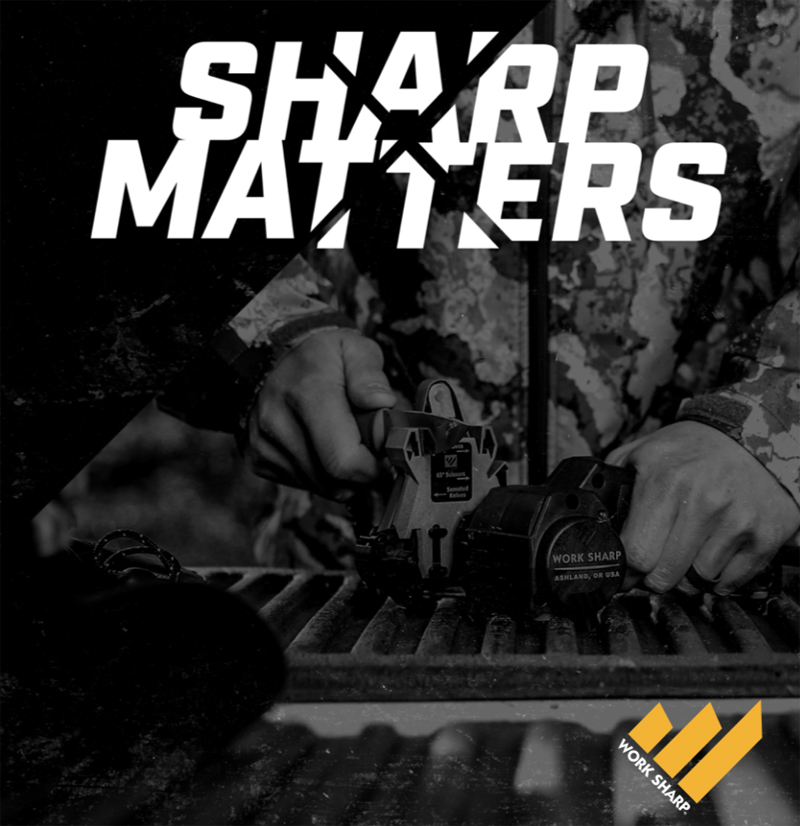 Sharp Matters: Because a Dull Knife Will Hurt You