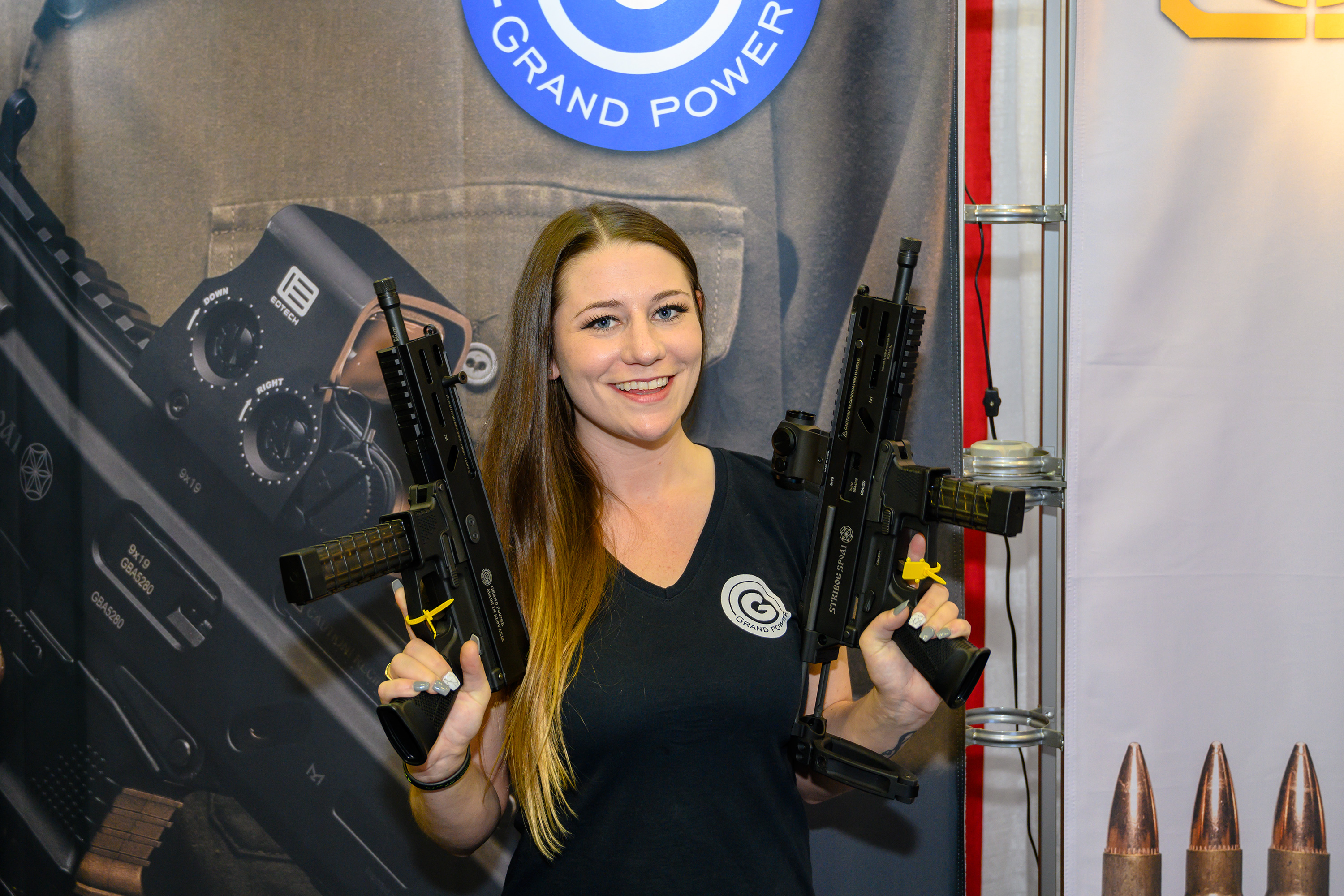 [NRA 2019] Kayla Wirth at Grand Power booth