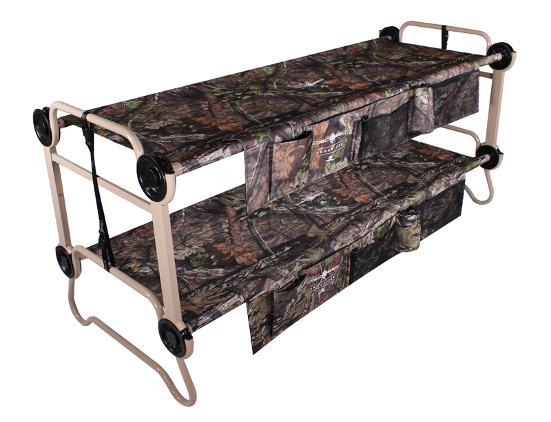 "Disc-O-Bed ""Bunk Cots"" Now Available in Mossy Oak"