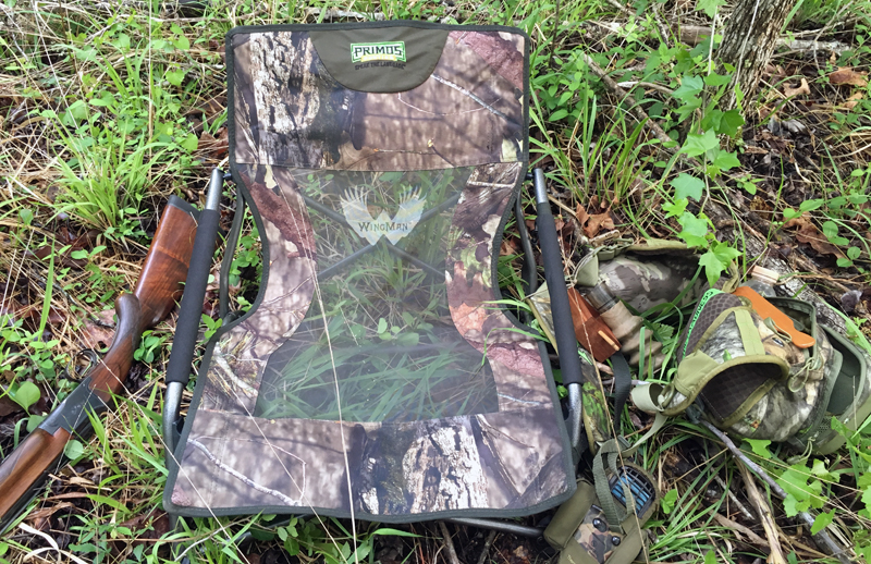 This was my typical setup during the second half of turkey season.