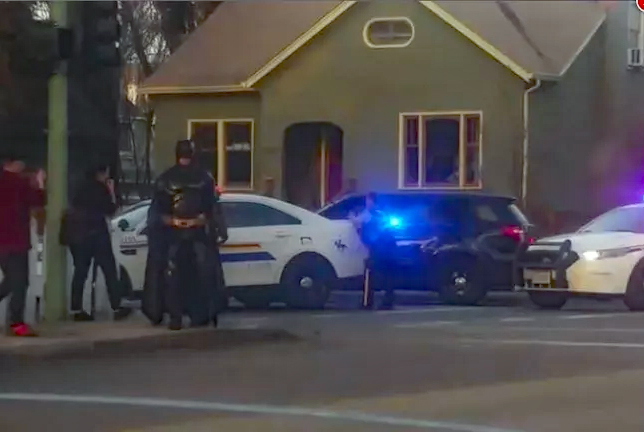 Armed Standoff Brings Canadian Batman to Help Police
