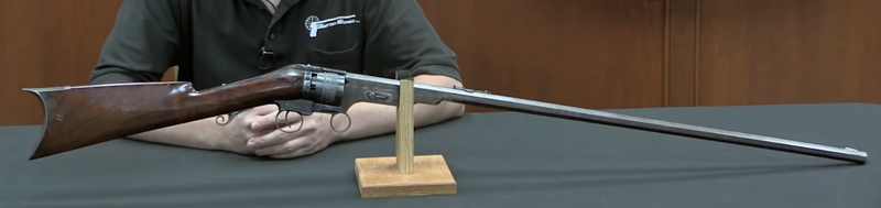 Watch: Colt Paterson No. 1 Model Revolving Carbine