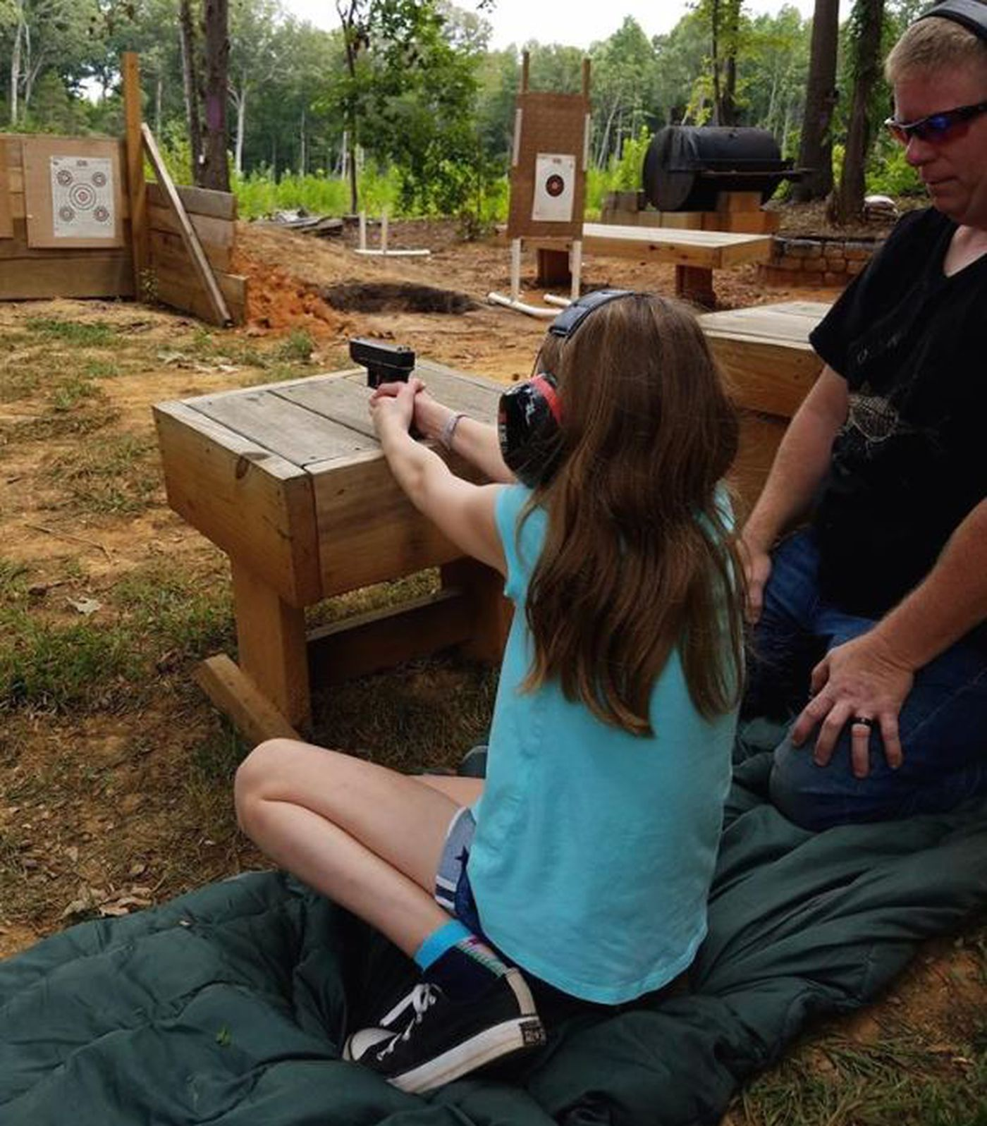 Gun Training for Kids as Young as 6 Years Old