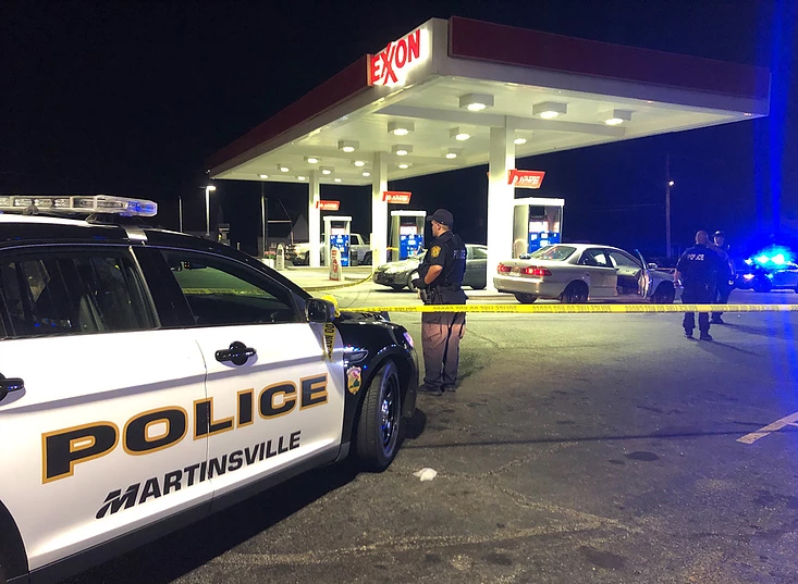 Armed Robber Shot at Gas Pump Trying to Rob Armed Citizen