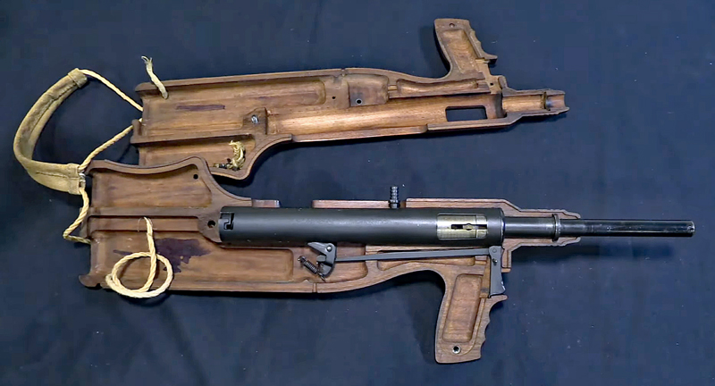 Watch: Viper Mark I One-Handed Sten Gun