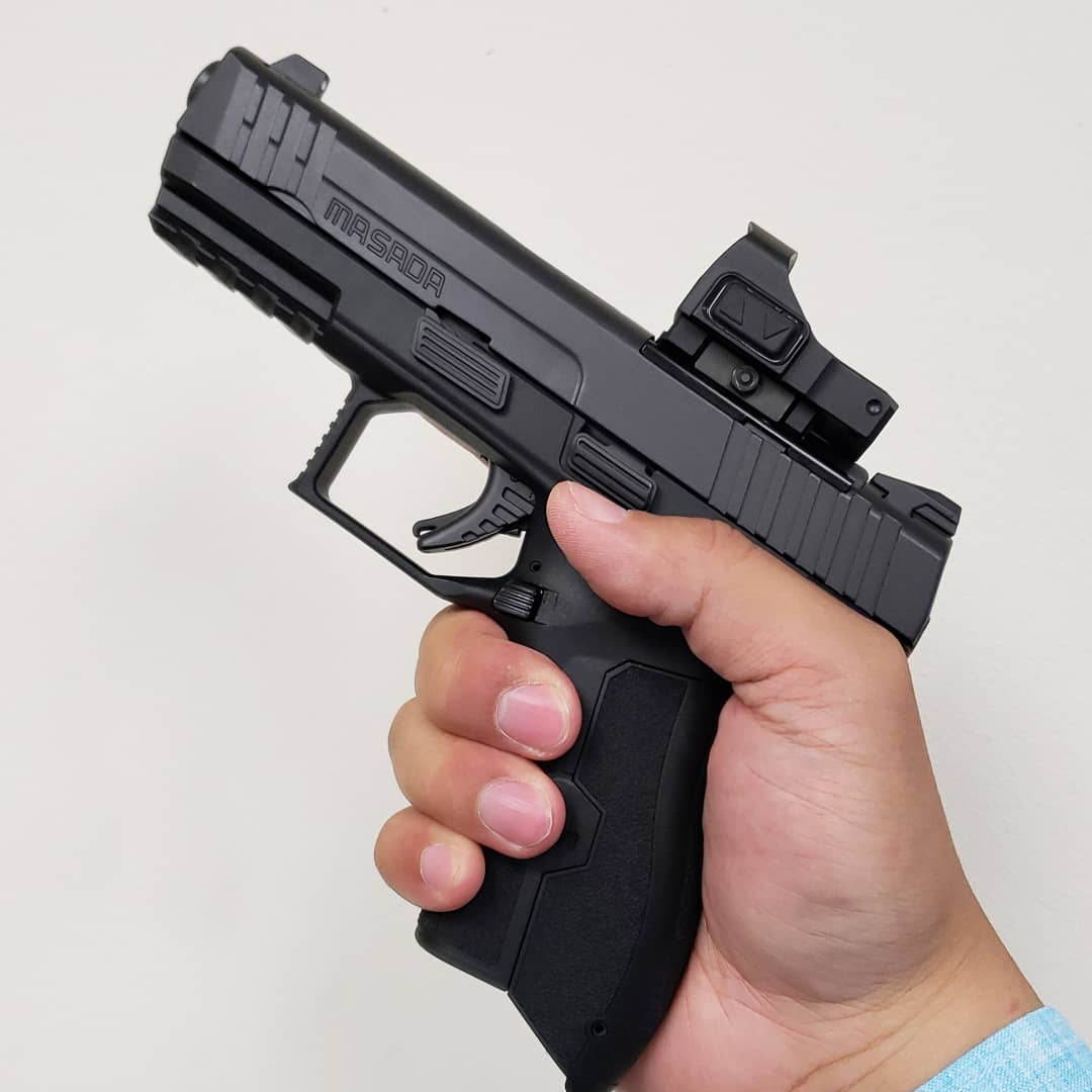 EXCLUSIVE PREVIEW: Meprolight MicroRDS Kit for the IWI Masada 9mm Pistol