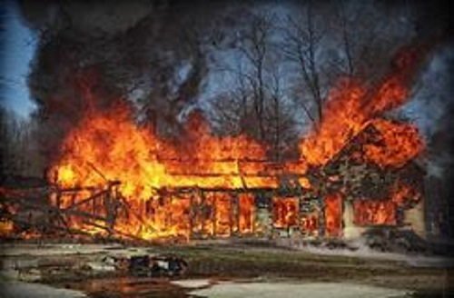 Prepper Home Fire Supression