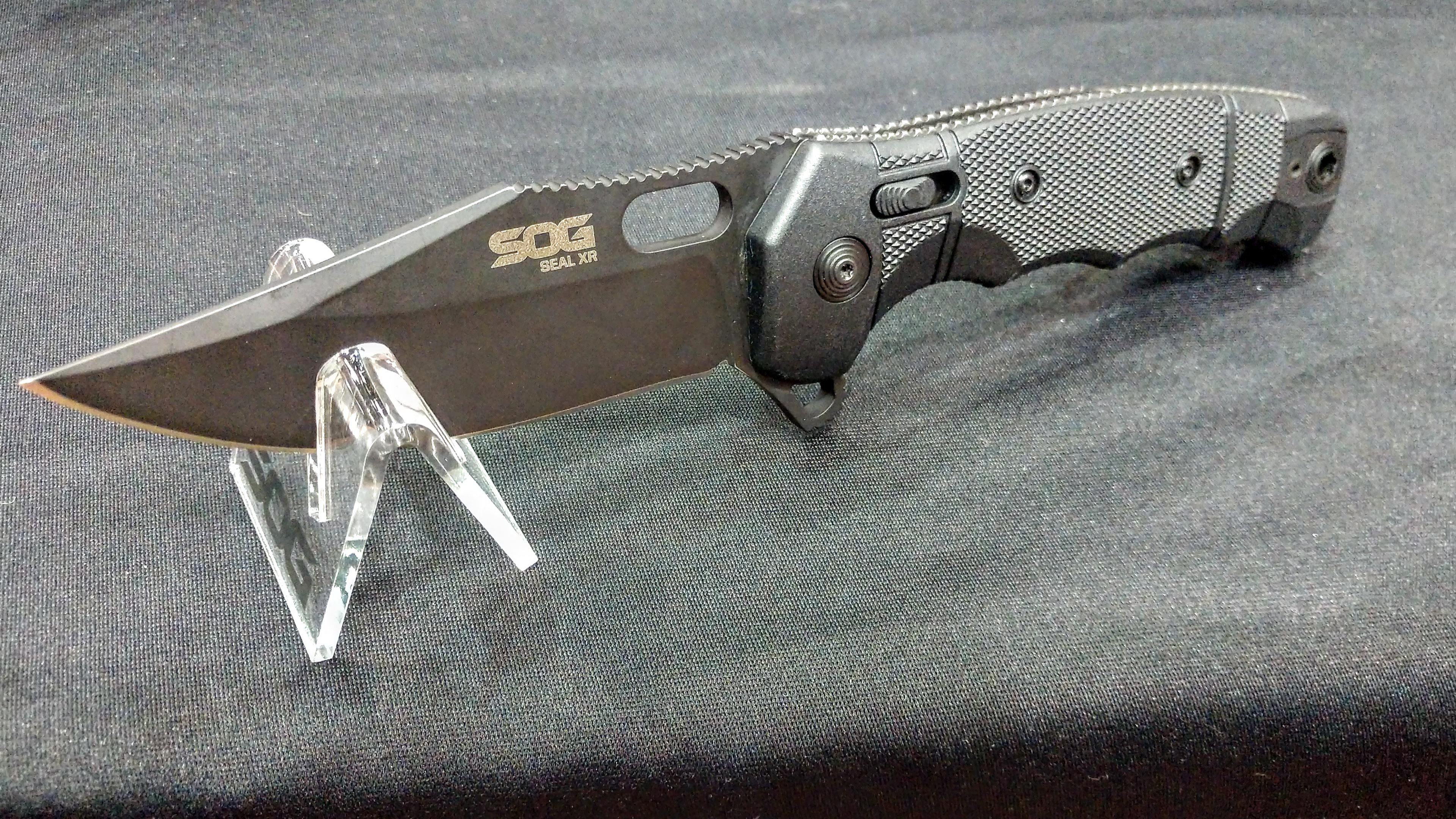 [TriggrCon 2019] SOG Knives Seal XR – Available in Oct '19