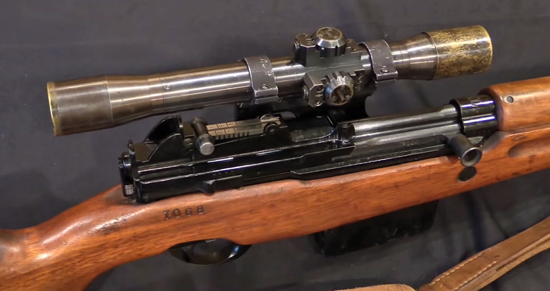 Luxembourg Army's FN49 Sniper Rifles