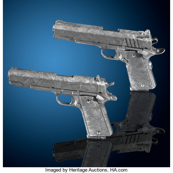 Meteorite Pistols Expected to Bring $1.5 Million