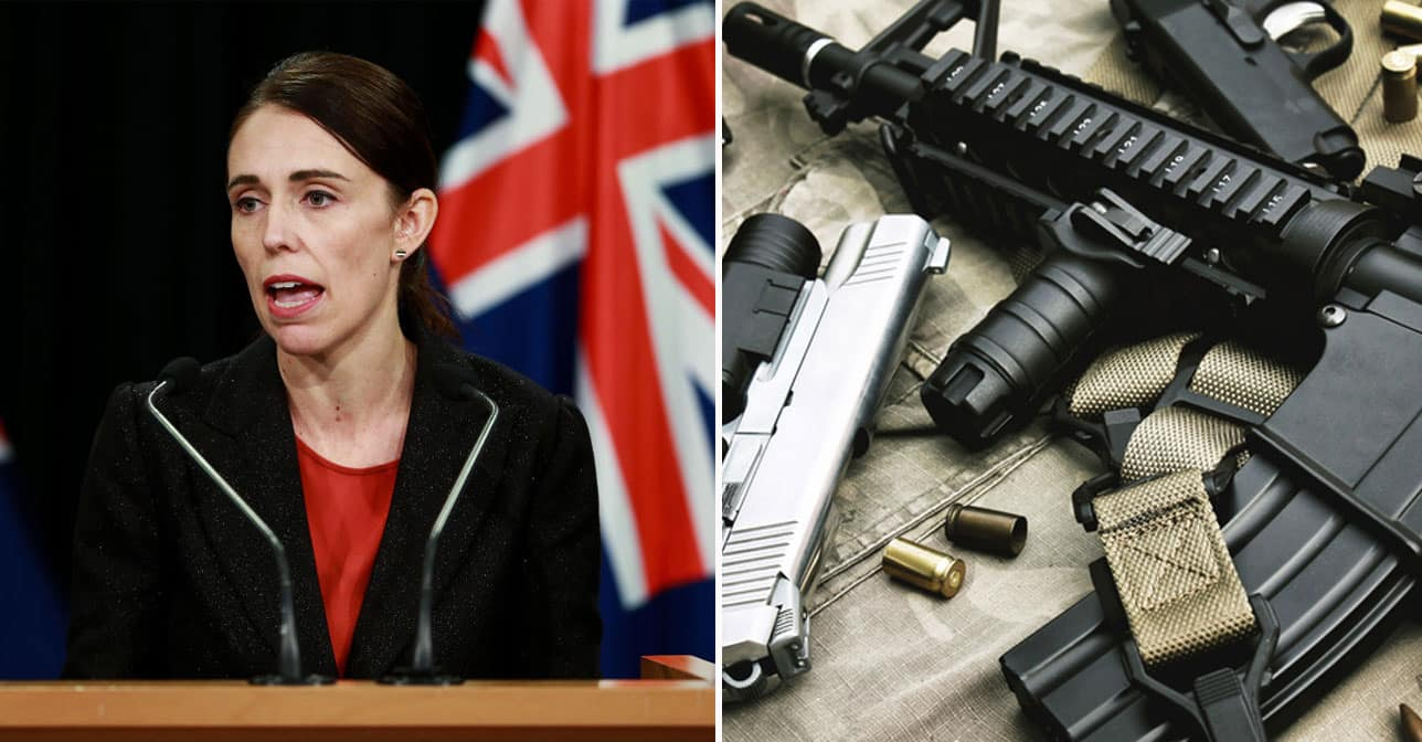 New Zealanders Not Complying With Gun Ban