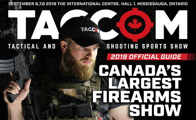 TACCOM Gun Show Coming to Canada on Sept 6-8th
