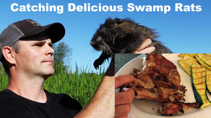 "Catching and Eating Nutria ""Swamp Rats"""